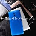 Оригинальный корпус для Meilan Note 6  задняя крышка для батареи  5 5 дюймов  металлический мобильный телефон  запасные части  чехол для Meizu M6 Note M721H