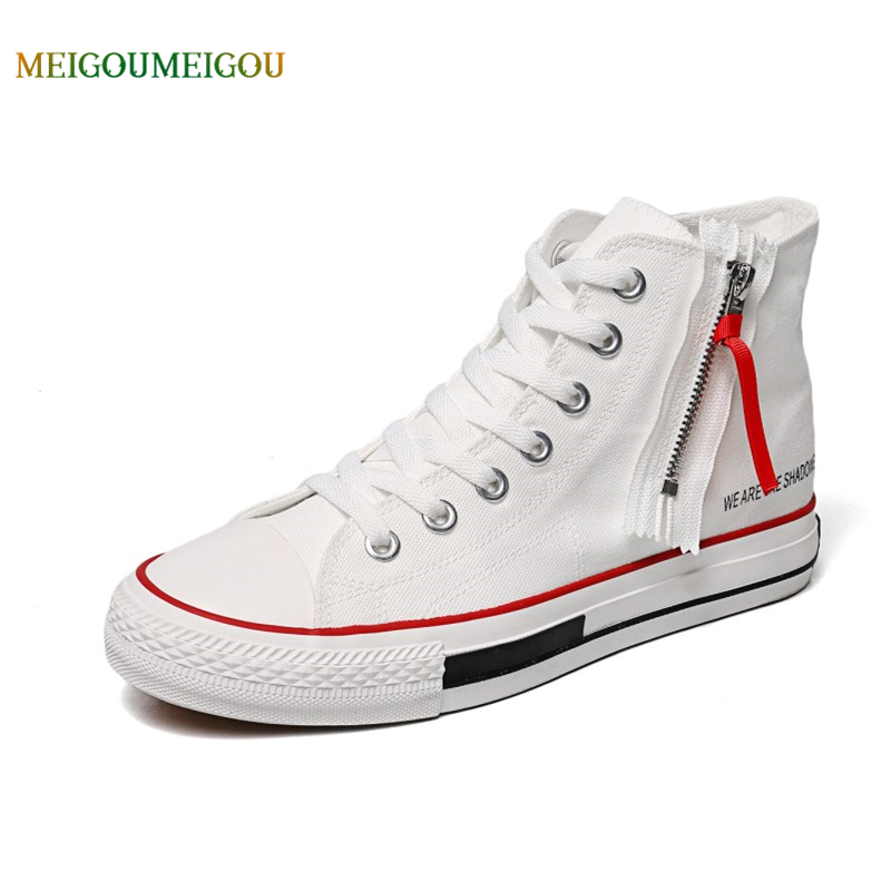 Best Buy MEIGOUMEIGOU Cool High Original Men Vulcanize Shoes