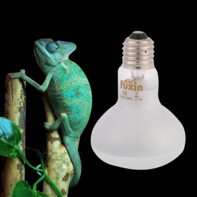Light Bulb for Pet Infrared Heat Basking 25W 50W 75W 100W Spotlight Lamp Heating Light For Reptile Pet Brooder White Glass new