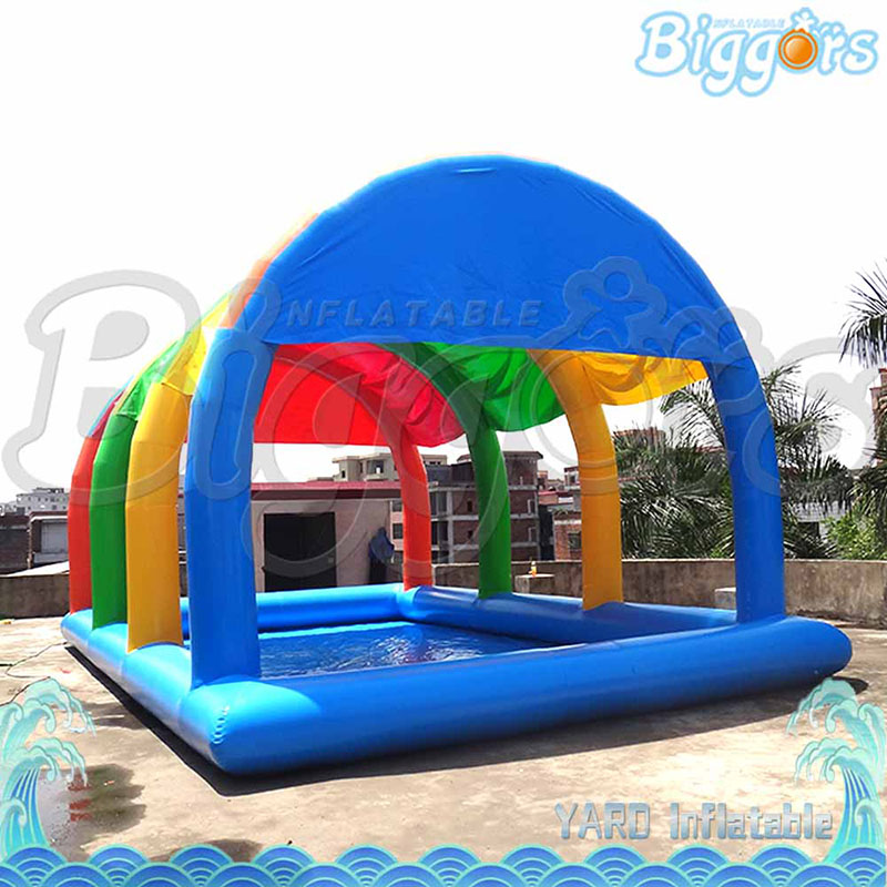 Yard Inflatable Biggors Inflatable Tent Pool For Promotion Colorful