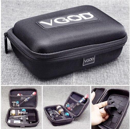 Original VGOD Case DIY Tools Bag for ECig Vape Kit as TFV8 iJust S iStick Pico revenger Mod Melo 3 Mini Tank liquid Bottle ect