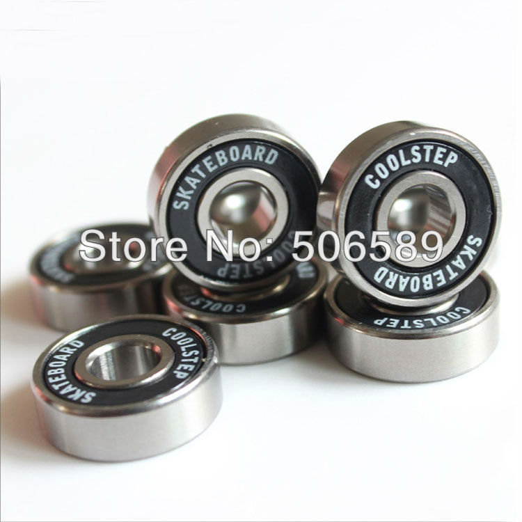 Free Shipping Skates Bearings Skateboard Bearings Super Fast Long Lasting 8pcs/box  22*7mm
