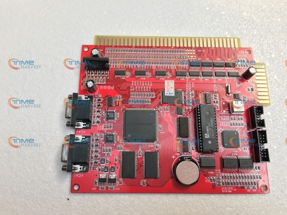 New arrival casino board XXL Blue 17 in 1 PCB 2 VGA slot game board multi