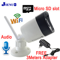 JIENU IP Camera Wifi CCTV Security Surveillance System Outdoor Waterproof Wireless Home Cam Support Micro Sd