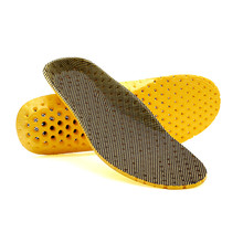 High quality Orthotic Arch Support Shoe Pad Sport Running Active carbon fiber remove odors Insoles Insert Cushion for Men Women
