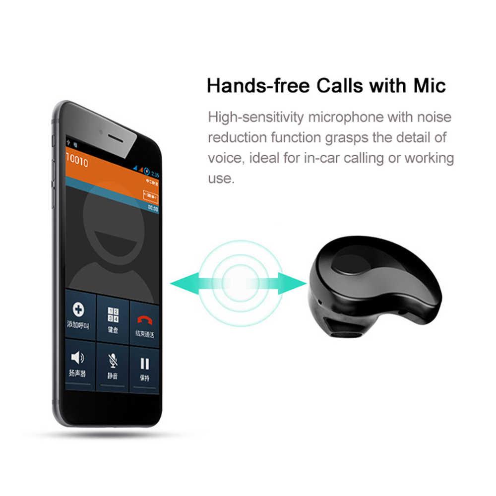 S550 سماعات أذن سماعة أذن صغيرة لاسلكية الأدوات والهدايا سماعة بلوتوث سماعة داخلية للأذن برعم 5 ألوان