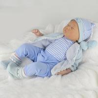 22 inch reborn baby doll kit newborn baby cheaper price solid doll toy for girl reborn dolls Reborn Dolls Kid's Toys Cute