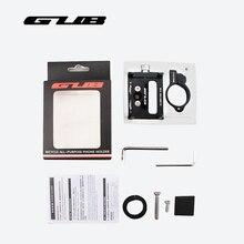 GUB Aluminum Bike Phone Stand For 3.5-6.2inch Smartphone Smart Phone Adjustable Universal Bicycle Handlebar Holder Mount Bracket