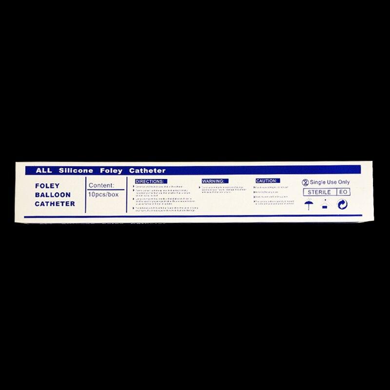 Купить с кэшбэком 3 way Medical Silicone Urethral Sounds Catheter Silicone Foley Catheter Male Catheter and sounds 10pcs