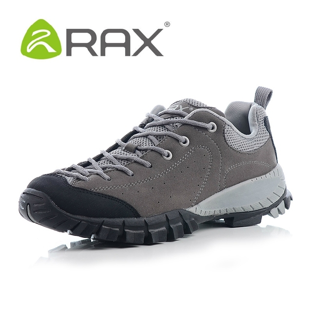 2017 RAX men genuine leather shoes lightweight men casual shoes non slip resistant EVA outdoor shoes shoes high quality A608