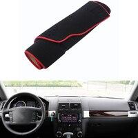 For VW Touareg 2003 2010 Car Dashboard Avoid Light Pad Instrument Platform Desk Cover Mat Silicone