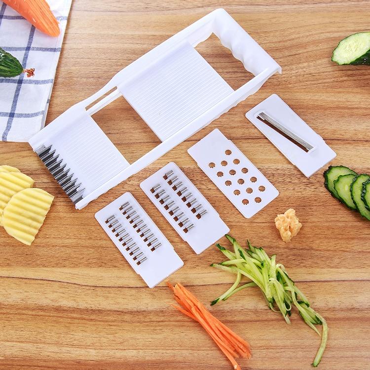 4 UNIDS Venta Caliente Trituradora Multifuncional Patatas Cortadora de Alambre P