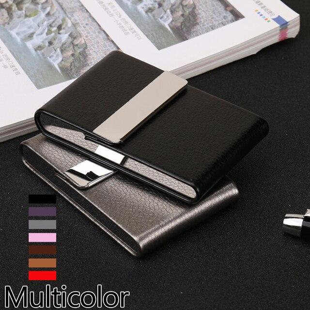 Di alluminio Cigar Portasigarette Tabacco Holder Pocket Box Contenitore di Stocc