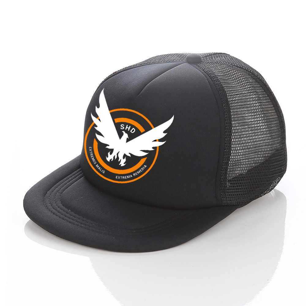 0846d527e62 Hot Sale Game Airsoft Cosplay Baseball Cap The Division Tom Clancy's  Snapback Hats Cool SHD Eagle