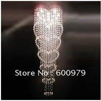 Trasporto libero della lampada moderna luce del pendente di cristallo lampada da letto giardini. l per il commercio all'ingrosso
