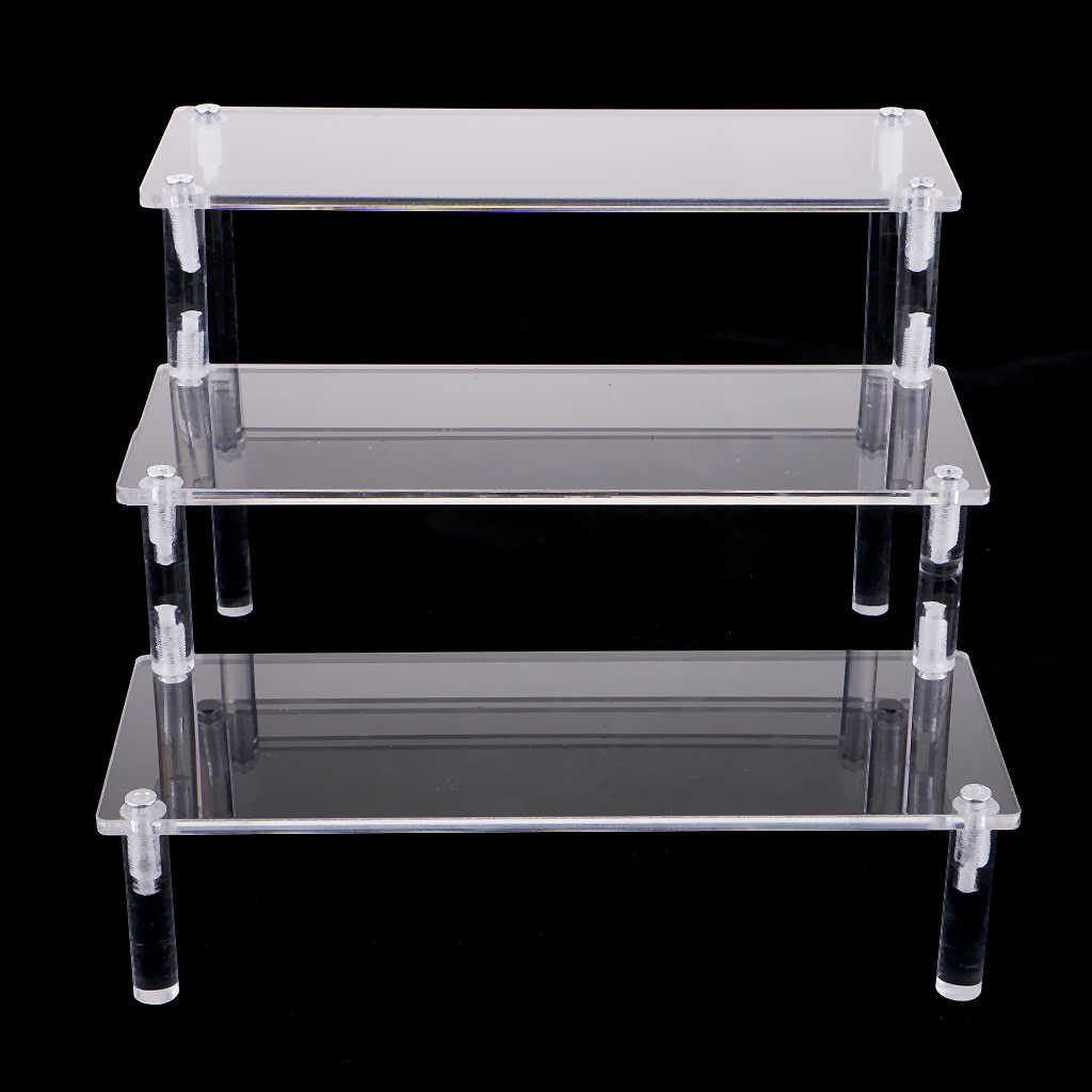 Acrylic Display Stand Holder for Miniature Character Action Figure Figurine