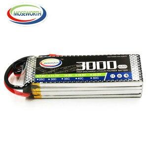 Image 3 - Lipo Batterij 4S 14.8V 3000Mah 40C Voor Rc Drone Vliegtuigen Quadcopter Helicopter Vliegtuig Auto Afstandsbediening Speelgoed lithium Batterij