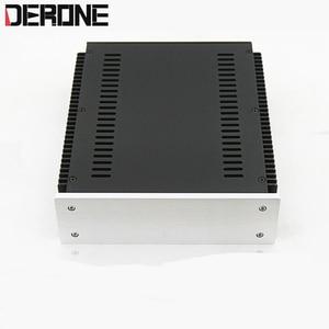 Image 5 - 1 piece aluminum chassis power amplifier shell  case power box preamplifier encasement