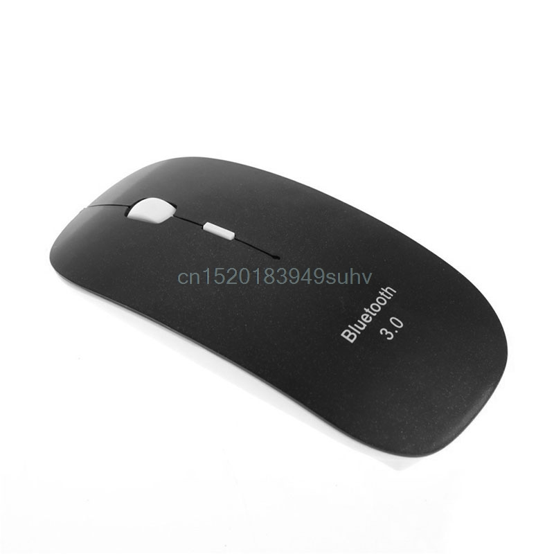 Slim Bluetooth Wireless Mouse 1600DPI Optical Mouse Mice For Windows 7/8 Computer Android for Macbook High Quality Hot Sale