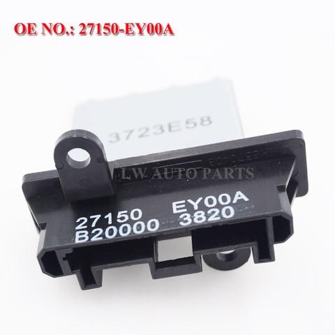 resistor do motor do ventilador parte nenhum 27150 ey00a 271502 j000 27150 8h300 para x