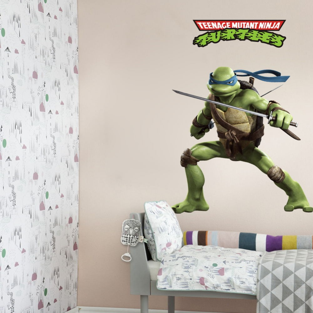 New hot 3d cartoon teenage mutant ninja turtles 3d wall stickers new hot 3d cartoon teenage mutant ninja turtles 3d wall stickers decals home kids boys bedroom decoration 3d wall stickers in wall stickers from home amipublicfo Image collections