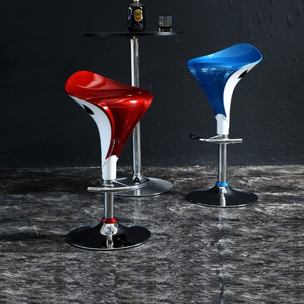 Selling Bar chair ABS seat wine red blue color coffee house lift stool KTV restaurant chair stool wholesale public house chair blue red brown color bar coffee house stool free shipping