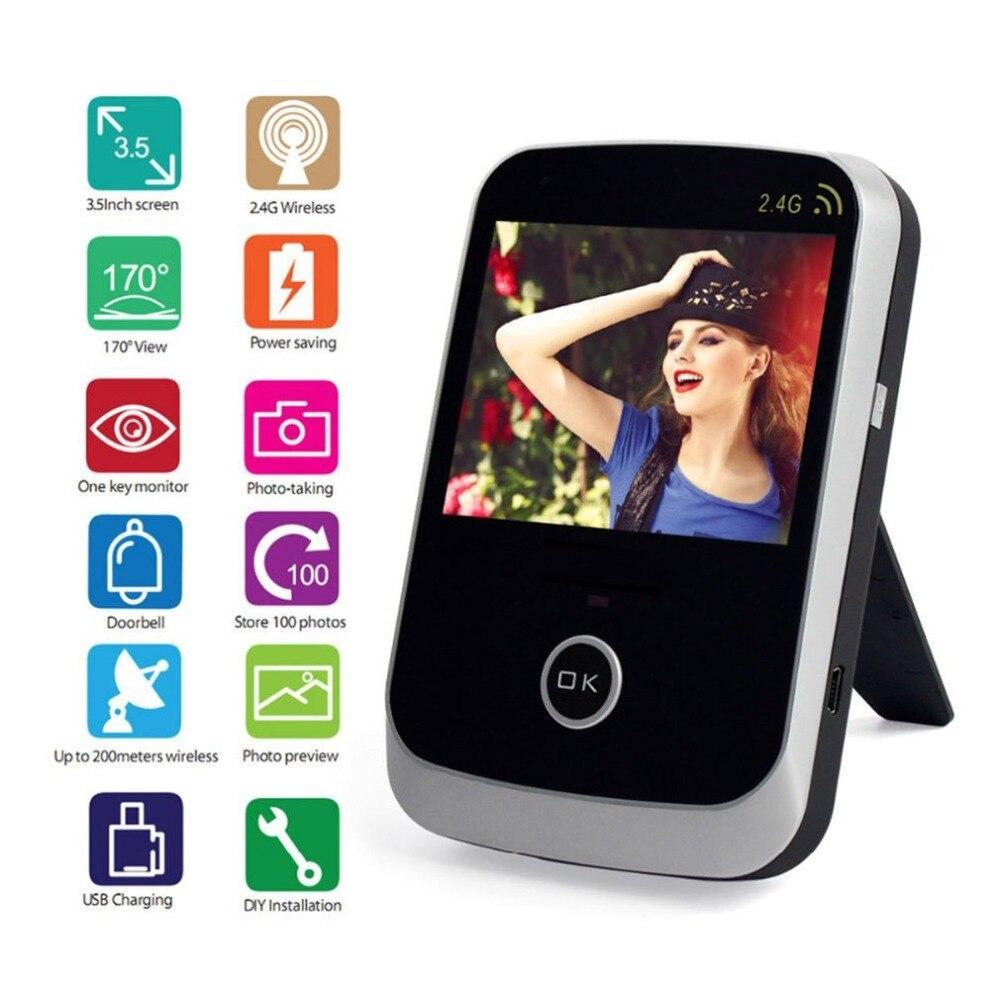 KiVOS KDB307 LCD Numérique Porte Judas Oeil Porte Spectateur Sans Fil Vidéo Sonnette Objectif Grand Angle Caméra Moniteur Pour La Maison Appartement