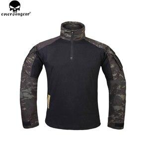 EMERSONGEAR охотничья одежда армейские брюки с наколенниками emerson Брюки Мультикам Shitr черные тактические камуфляжные брюки G3 униформа