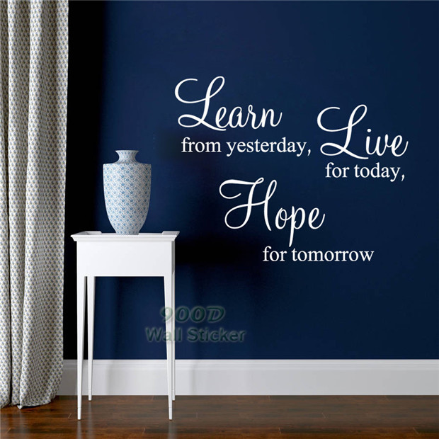 Inspiration Quote Wall Sticker-