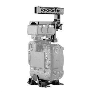 Image 2 - SmallRig GH5 Halb Käfig Kit für Panasonic Lumix GH5 mit Batterie Griff/Top Handgriff/Dual Rod Clamp Grundplatte system 2067