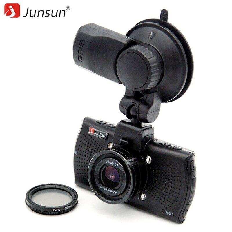Junsun TOP Ambarella A12 Car DVR font b Camera b font FHD 2560 1440P GPS Logger