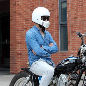 Image 4 - Casque de Moto de marque TT01 Spirit Rider
