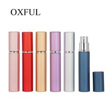 1pcs 6 Colors New Arrival 8ML Mini Portable Travel Perfume Bottle  Parfum Bottles For Spray Scent Pump Case