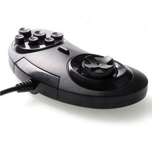 for SEGA Genesis/MD2 Y1301 USB Gamepad Game Controller 6 Buttons SEGA USB Gaming Joystick Holder for PC MAC Mega Drive Gamepads все цены