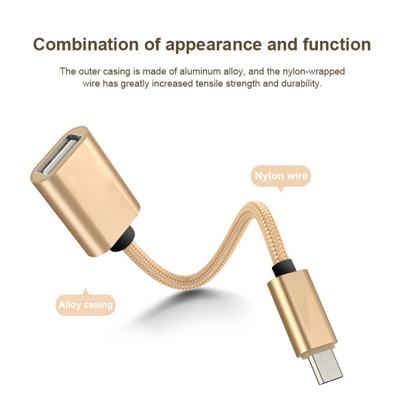 OTG Micro USB 3,0 кабель-адаптер для Samsung Huawei Mate 20 HTC Xiaomi Android Tablet PC MP3 Смартфон Micro USB OTG кабель
