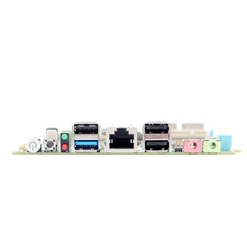 Nano 12*12 CM de MINI PC placa base E3845 2G/4G RAM 2 * Lan 1 * RJ45 1 * Mini-PCIe 3 * USB2.0/1 * USB3.0 soporte wifi/3G módulo