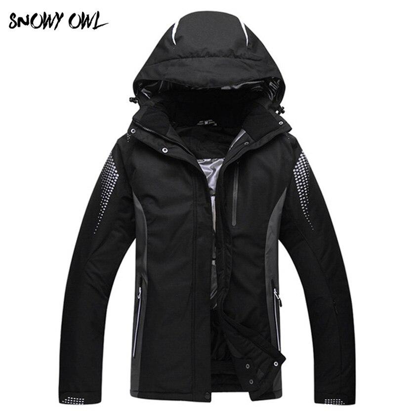 2017 новый сноуборд куртка мужская и wo Мужская Пара моделей одежды теплый ветрозащитный и водостойкий лыжный костюм куртка h200