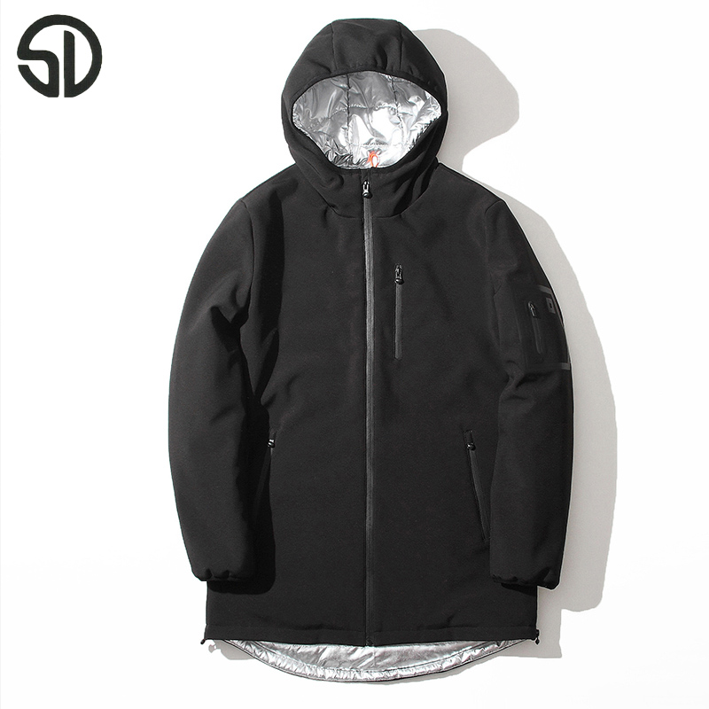 Have quality inspection Cotton-padded clothes upset hooded men's jacket winter Warm Coat Free Shipping cultivate one's morality