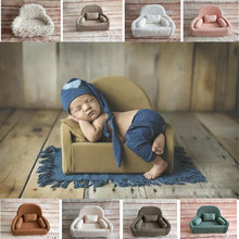 Newborn Props Fotografia Studio Posing Sofa for Photo Shoot Baby Accessories Mini Beans Flokati