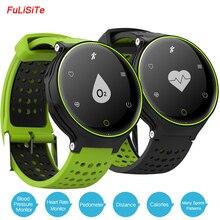 Bluetooth Fit часы IP68 Водонепроницаемый сна монитор сердечного ритма SmartBand крови Давление умные часы фитнес для Android Iphone7