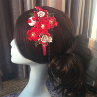 2019 Hot Lady Girls Cute Sweet Big Bow Ribbon Hair Accessory Headband Bow Head Band For Cosplay Custom O O