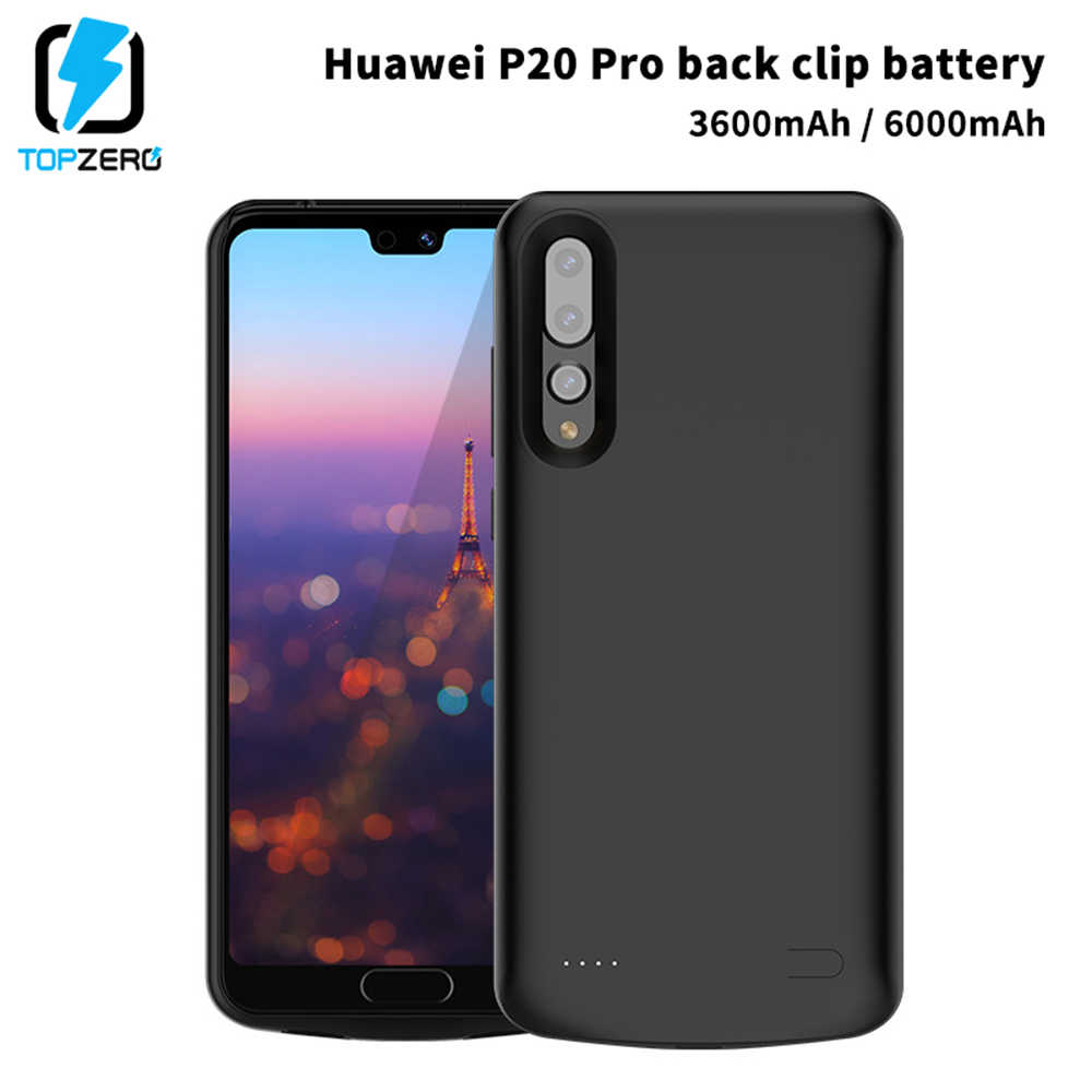 6000mAh Battery Charger Case For Huawei P20 High Capacity Portable Charging Case Power Bank Case For Huawei P20 Pro Poverbank