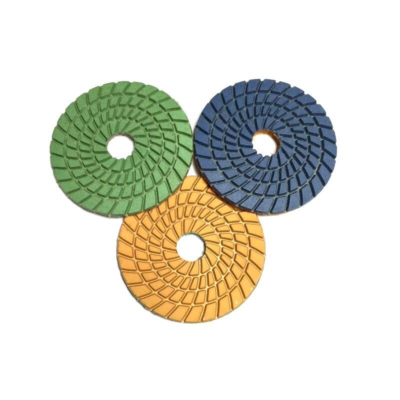 RIJILEI 10 piezas / lote Almohadillas de pulido de diamante flexible - Herramientas eléctricas - foto 5