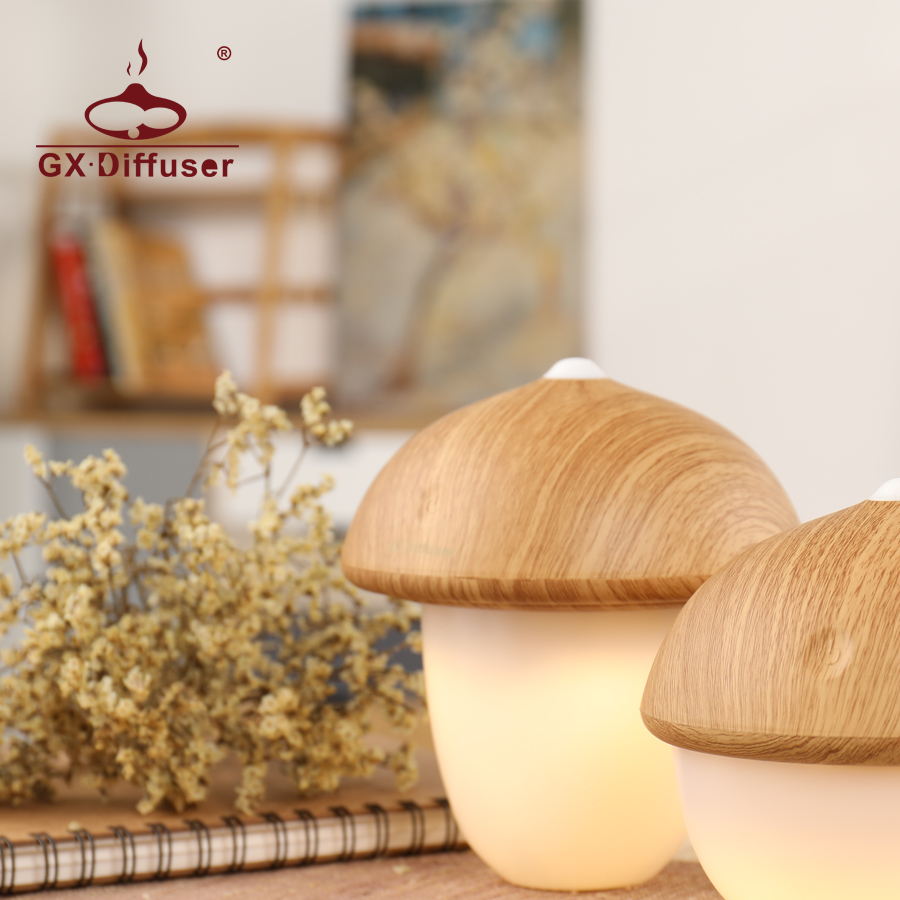LED Night Light for Home Kids Mushroom Cute Creative Sleeping Nightlight Desk Lamp Decoration Mini Warm For Bedroom - 2