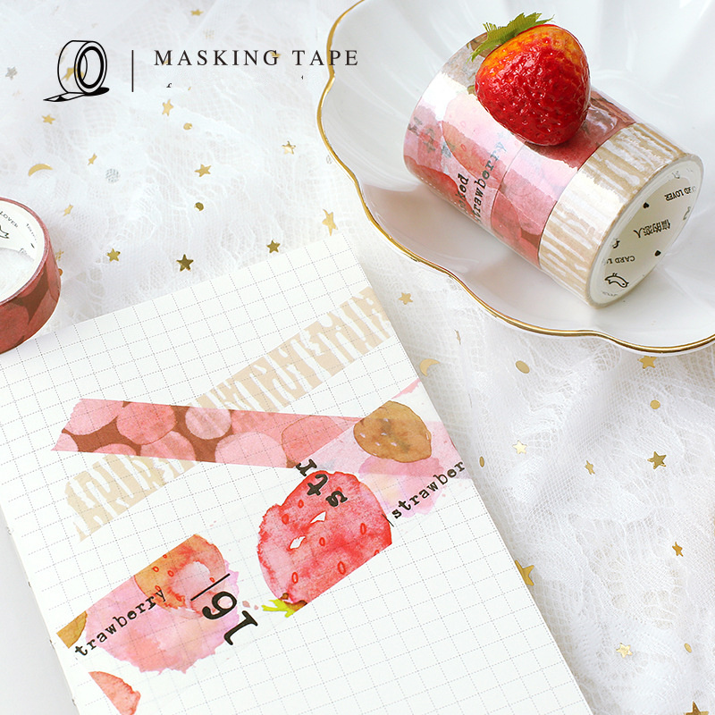3 pcs decoration cake color washi tape set Strawberry Chocolate Green tea cake masking tapes sticker album diary Stationery F001 шапка befree befree be031cwuxm87
