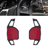 Car Steering Wheel DSG Paddle Extension Shifters Shift Sticker Decoration For AUDI A3 S3 A4 S4