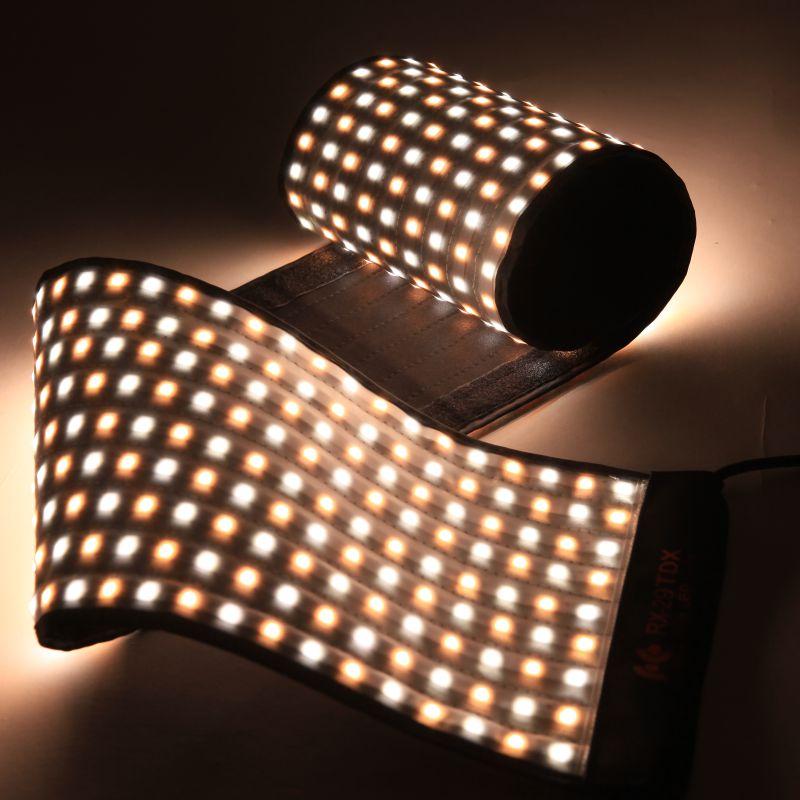 Falcon Eyes 100 W Fotografia éclairage étanche Portable LED Photo caméra lumière 504 pièces Flexible studio LED vidéo lumière RX-29TDX
