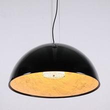 Modern simple pendant light resin flower Toolery E27 bulb home decoration drop light black white color metal body hanging light