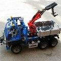 2016 новый DECOOL 3331 Техника серии off road грузовик модель building blocks набор Классический совместимость автомобиль Развивающие Игрушки