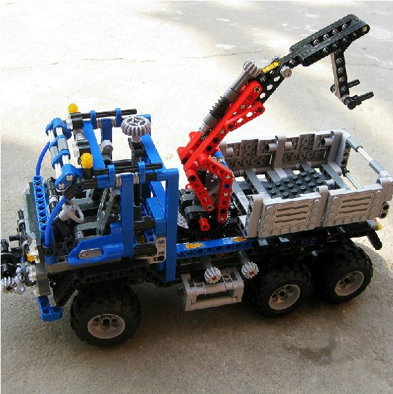 2016 new DECOOL 3331 Technic series the off road truck model building blocks set Classic compatible car Educational Toys